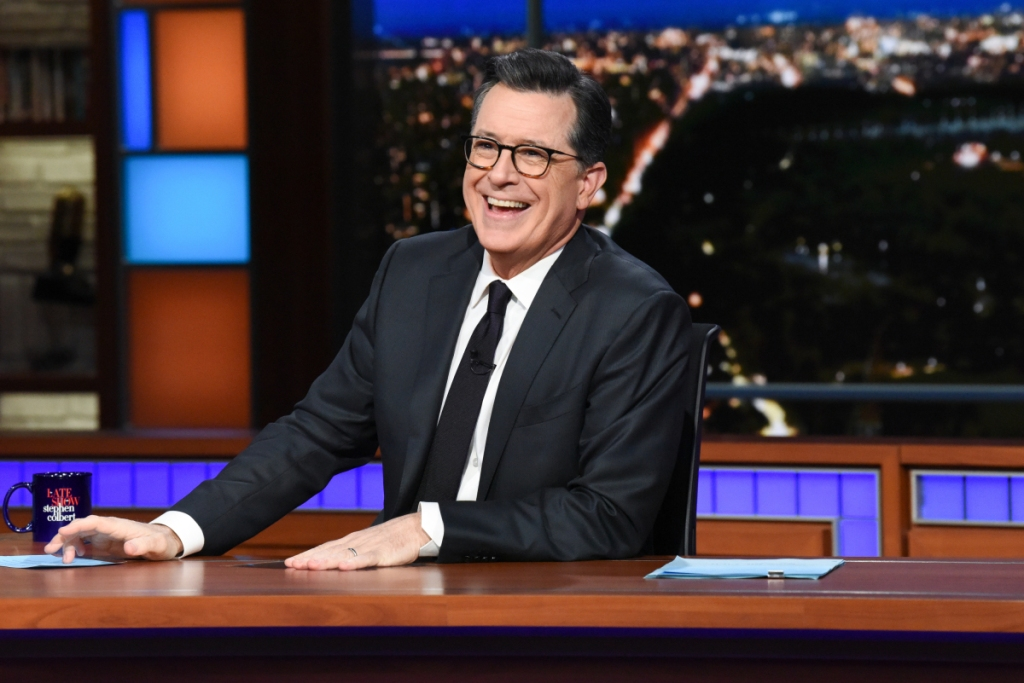 list of the late show with stephen colbert episodes