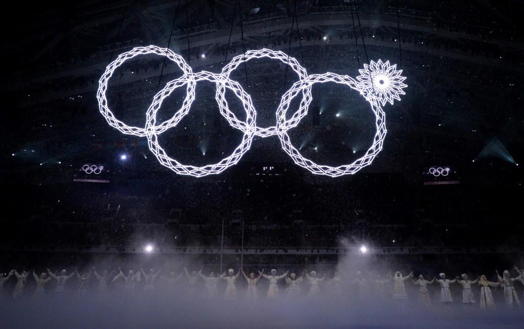 olympic ring mishap