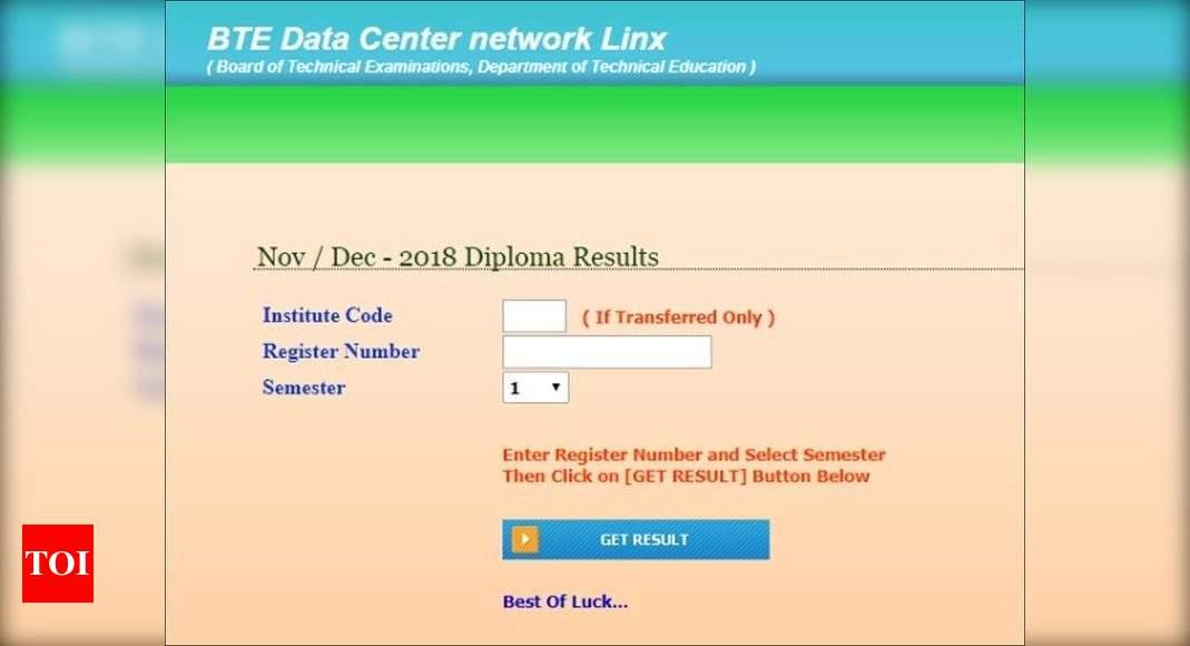 btelinx diploma results 2020