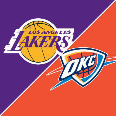 thunder vs lakers