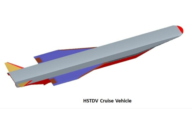 hypersonic technology demonstrator vehicle
