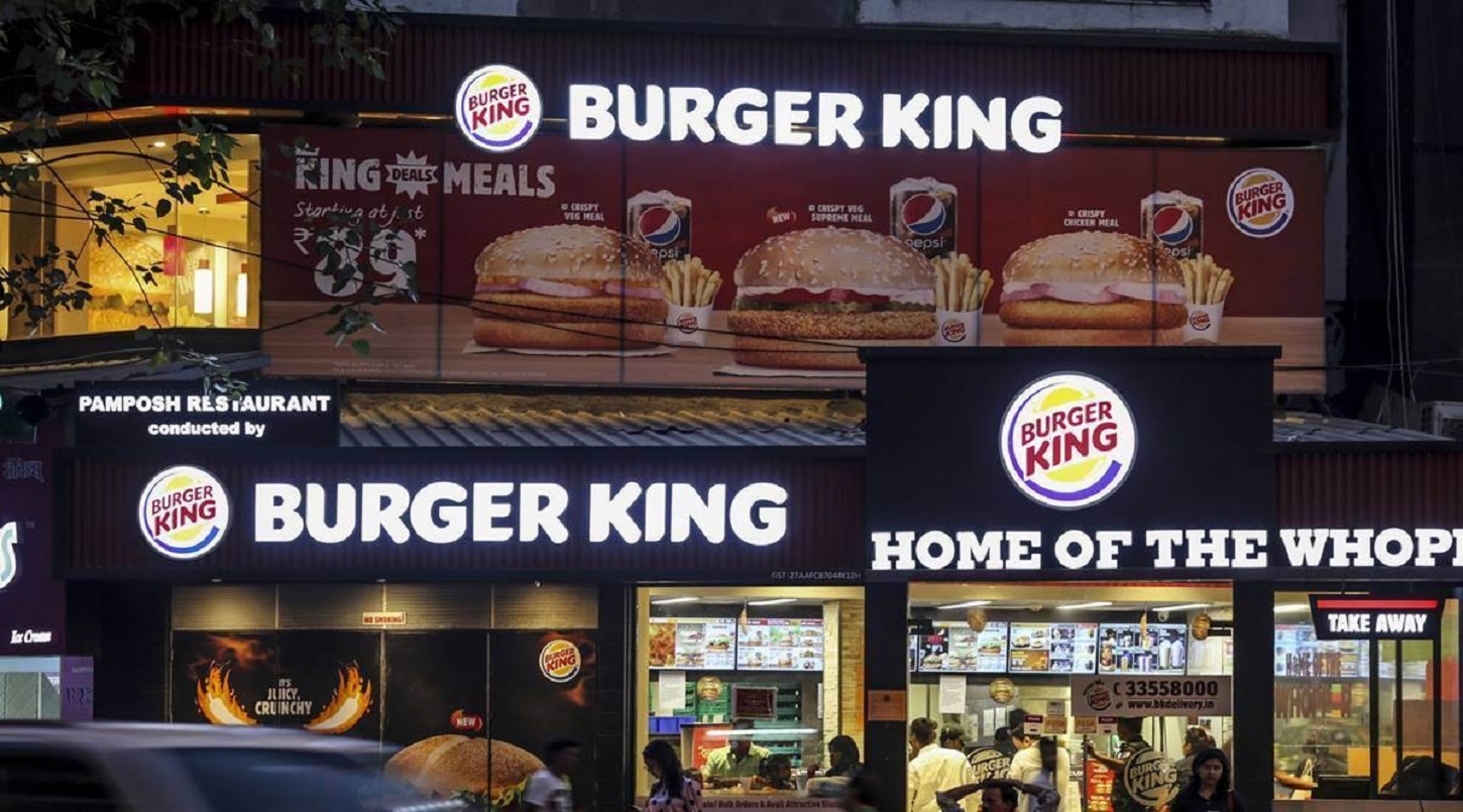 burger king share price