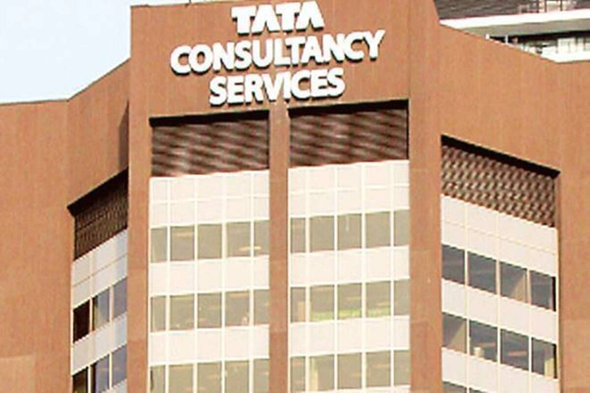 tcs share price