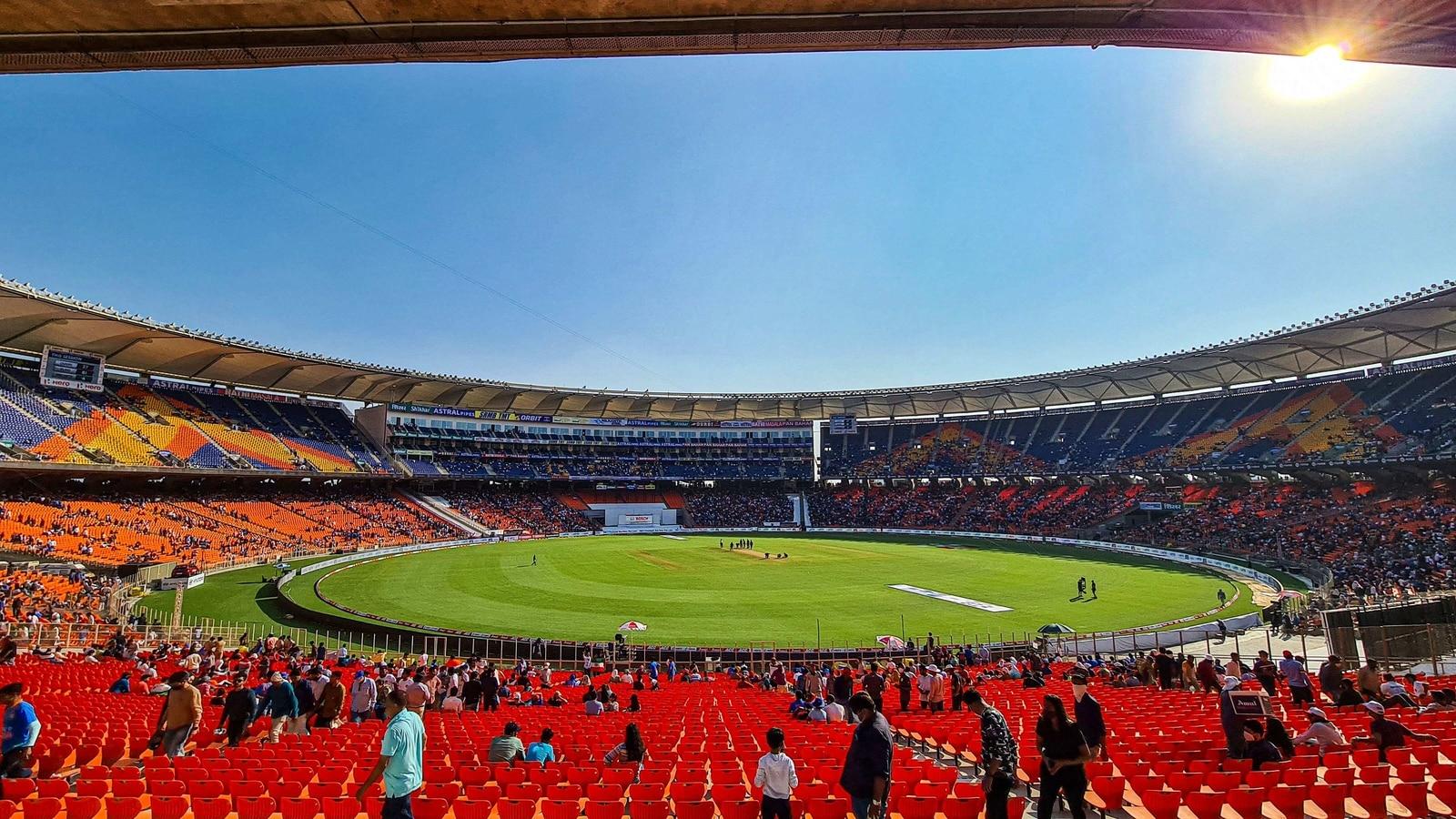 narendra modi stadium pitch report