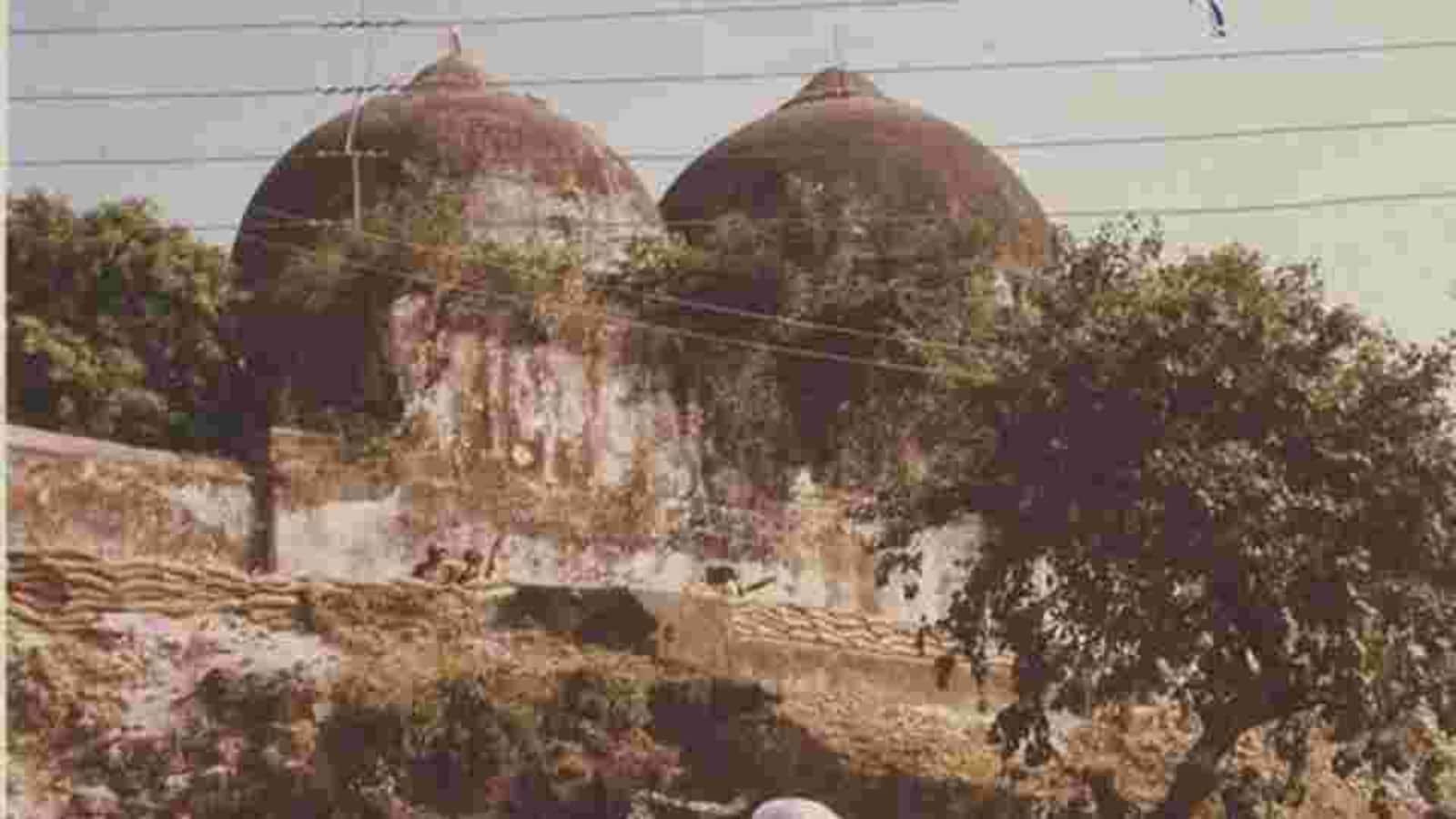 demolition of the babri masjid