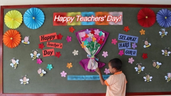 teacher's day photo