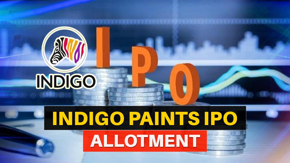 indigo paints ipo allotment date